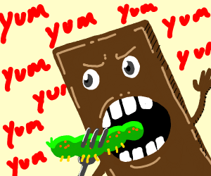 murderous chocolate eating caterpillar