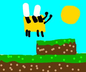 the bee movie in minecraft
