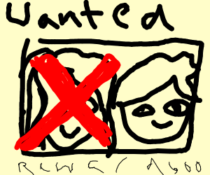 Girl is removed from a wanted poster