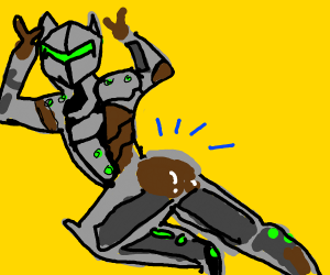 genji got a thicc booty
