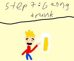Step 6: midlife crisis
