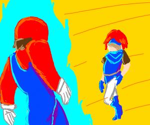 Mario vs. Roy(Fire Emblem)