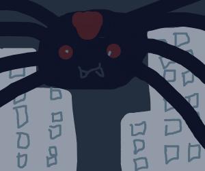 Not so itsy-bitsy spider