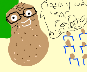 old potato teacher