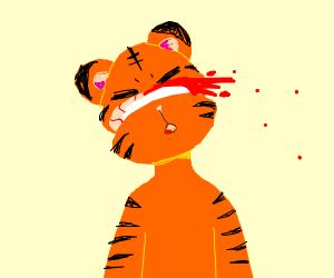 Tiggers severed head