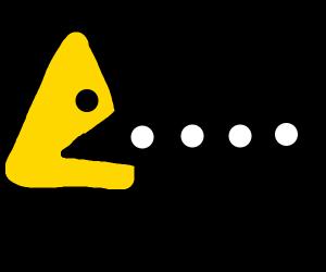 Triangular PacMan