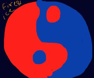 Fire&Ice yin-yang