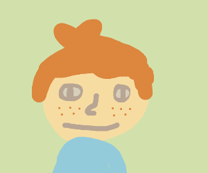 freckly kid