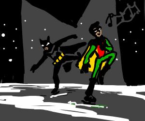 Batman on ice (The musical)