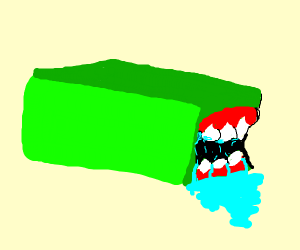 Green Rectangle Vore