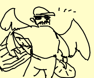 Fly Garbageman