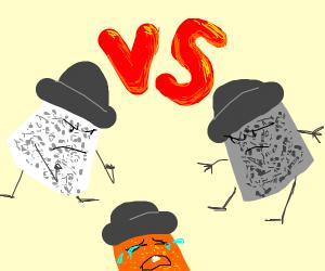 Salt VS Pepper