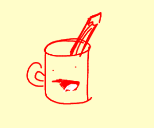 The drawfee mug
