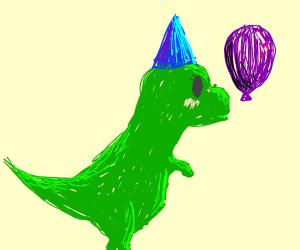 Dinosaur's birthday