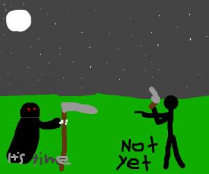 The Reaper kills someone