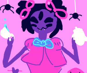 undertale business spider lady
