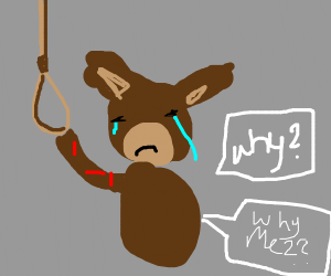 suicidal furry asks why?