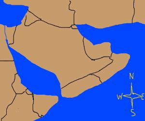 Map of Arabia