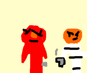 elmo being shot by his fellow inmate