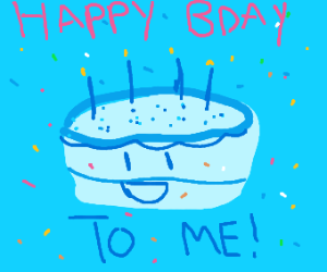 Its someones birthday today :)