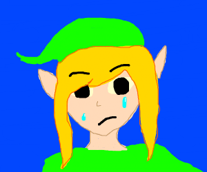 Sad Link (Legend of Zelda)