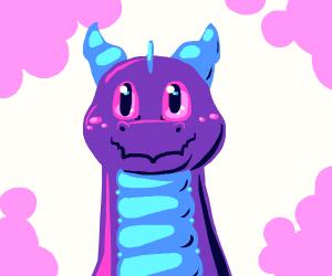 happy dragon