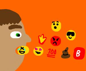Consuming Emojis