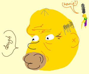 Old Homer Simpson