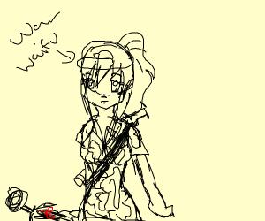 waifu drafted in war