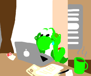 yoshi does taxes