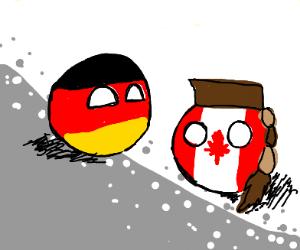 Germanyball and Canadaball