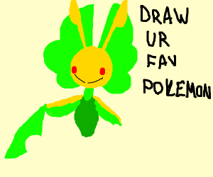 Draw your favorite Pokemon! Have fun!