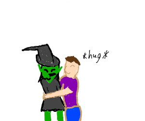Witch Hugging
