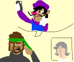 """Otacon,Waluigi is an eboy"""