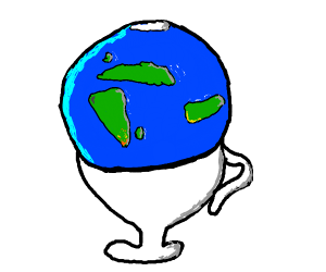 Earth + Cup