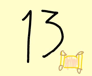 13 papyrus