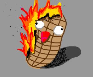 burning nut