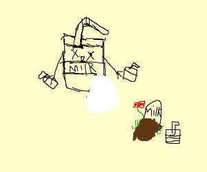 The milk man is dead