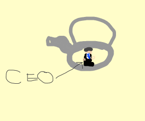 CEO in a Teapot