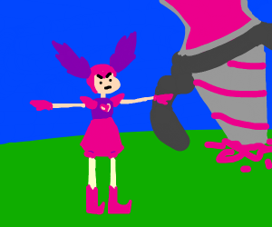 Spinel T-posing