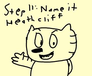 Step 10: that's a cat