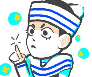 chibi jojo character!