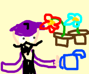 Waluigi god of plants.