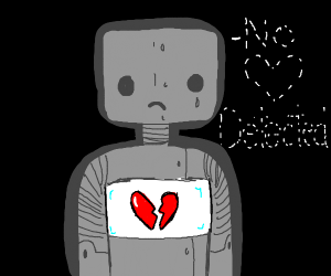 robot searches universe for love (finds none)