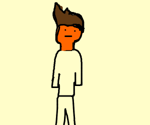 Guy with spray tan