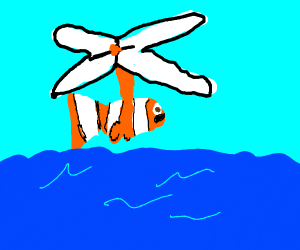 nemo turns into a helicopter