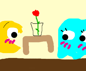 pacman on a date
