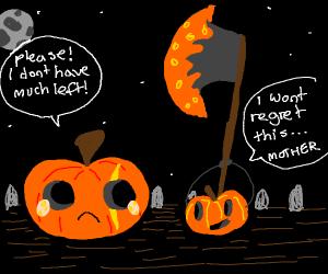 abusive pumpkin family