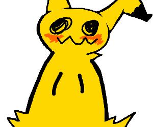 Mimikyu is blushing