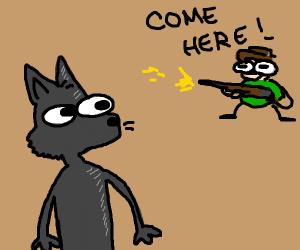 furry in danger
